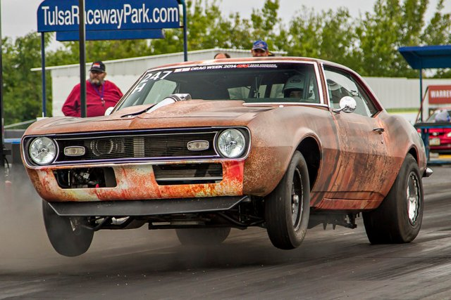 Getting your car to launch like this involves not only a good suspension and tires, but the correct torque converter for the application.