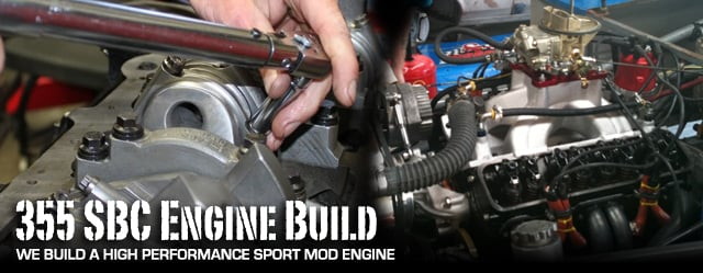 Bad Ass Sport Mod 355 Small-Block Chevy Engine Build