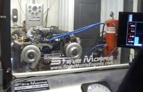 video 3 000 horespower twin turbo big block ford dyno run dragzine dragzine