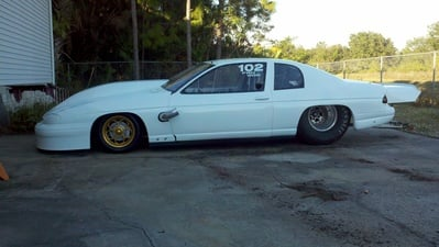 Mike Moran S Former 5 Second Monte Carlo Rebuilt Up For