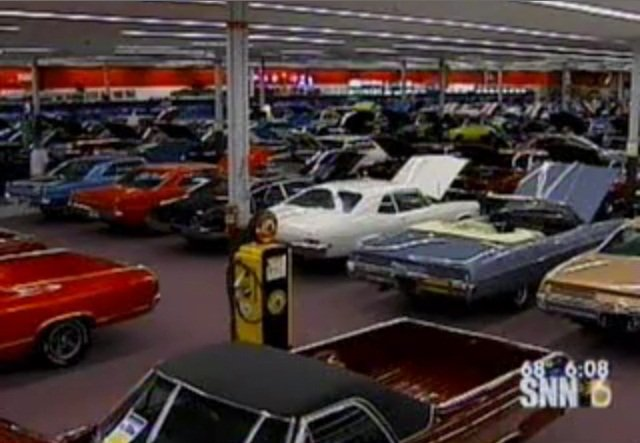 Video Florida Man Houses Immense Car Collection In Old Walmart