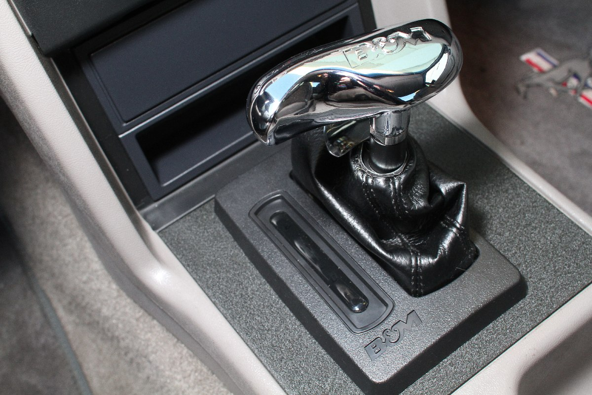 Bms Hammer Shifter Install On A Fox Body Mustang Fordmuscle