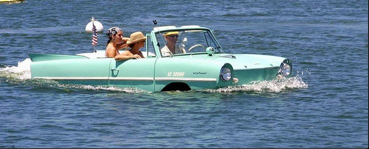 Celebrity Cars Amphicars The Novelty Collector Car Rod Authority