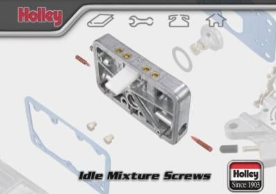 How To Properly Adjust The Idle Mixture On Holley