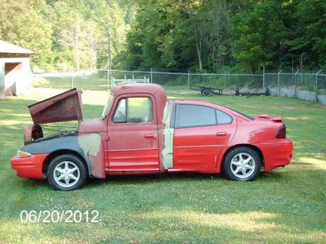 Craigslist Find Half Car Half Truck Full Tilt Ugly Street Muscle
