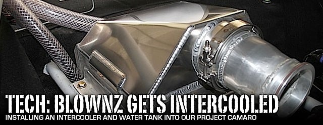 Tech: Installing A Chiseled Water Tank And Intercooler Into