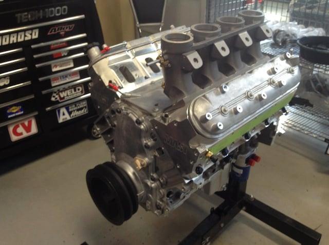 Video Mast Motorsport S Ls3 Engine With Hilborn Injection