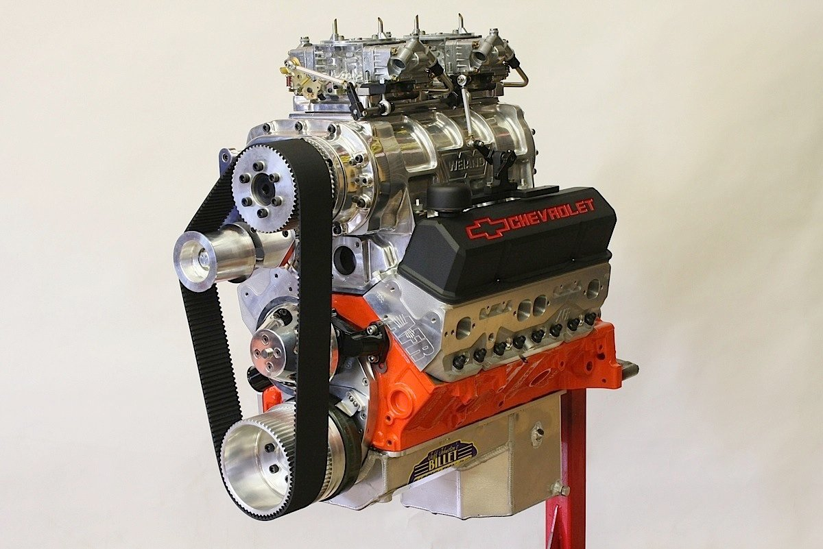 All Chevy 350 chevy engines : Hardcore Horsepower's 820-hp Blown Small-block