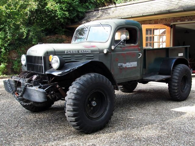 56 dodge power wagon comes with awesome for sale ad for Motorized wagon for sale