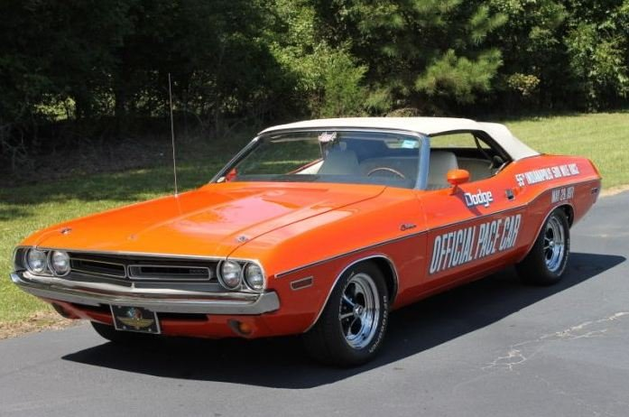 1 Of 50 1971 Dodge Challenger Pace Cars For Sale Street