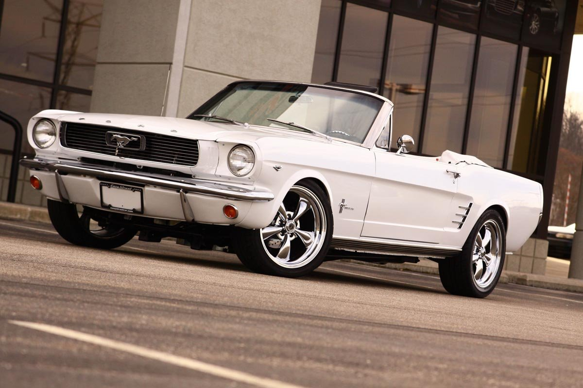 Old School Cool – A \'66 Mustang With Coyote Power - StangTV