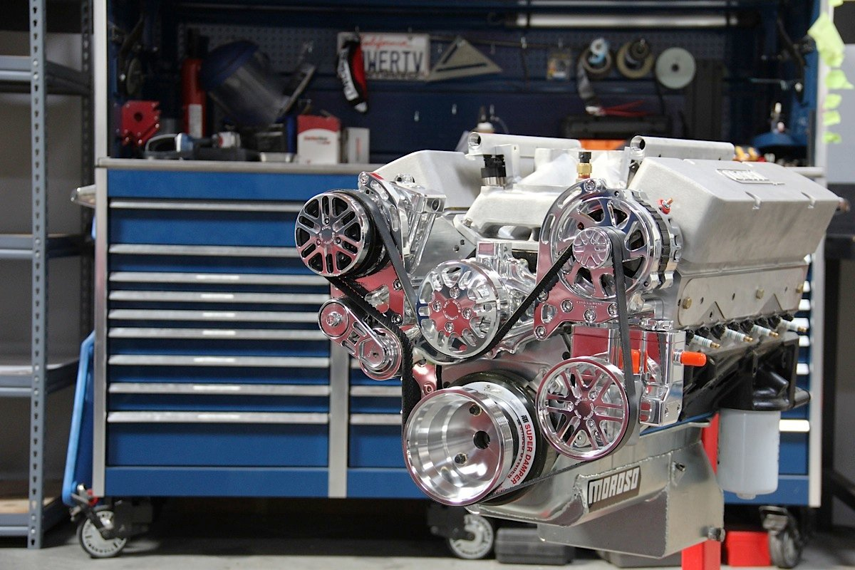Watch as well Mercruiser 5 0 V8 Cooling System Diagram also Showthread further BluePrint 383 Small Block Chevy Crate Engine 52467 besides External Transmission Cooler. on chevy 350 water flow diagram