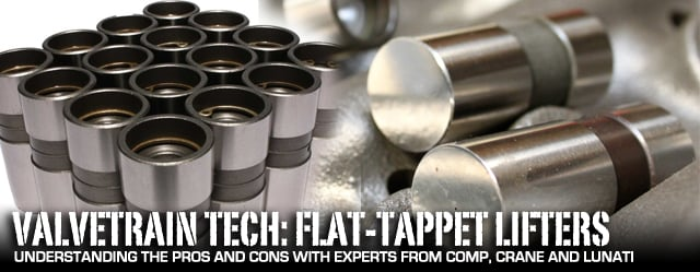 Engine Tech: Flat-tappet Lifters Still Viable in Performance