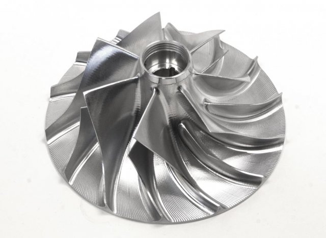 Racing has been advanced by the use of CNC-machined billet impeller technology.