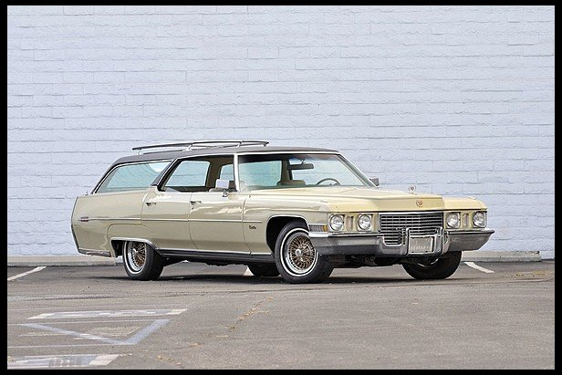 Elvis S Unique Cadillac Station Wagon For Sale Street Muscle