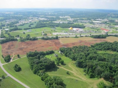 Land clearing is already underway, and the official groundbreaking will be Friday, June 28.