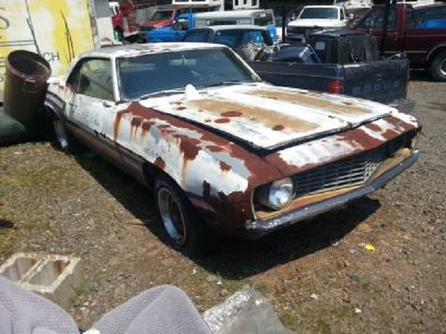 Craigslist Find Rusty 69 Camaro With An Optimistic