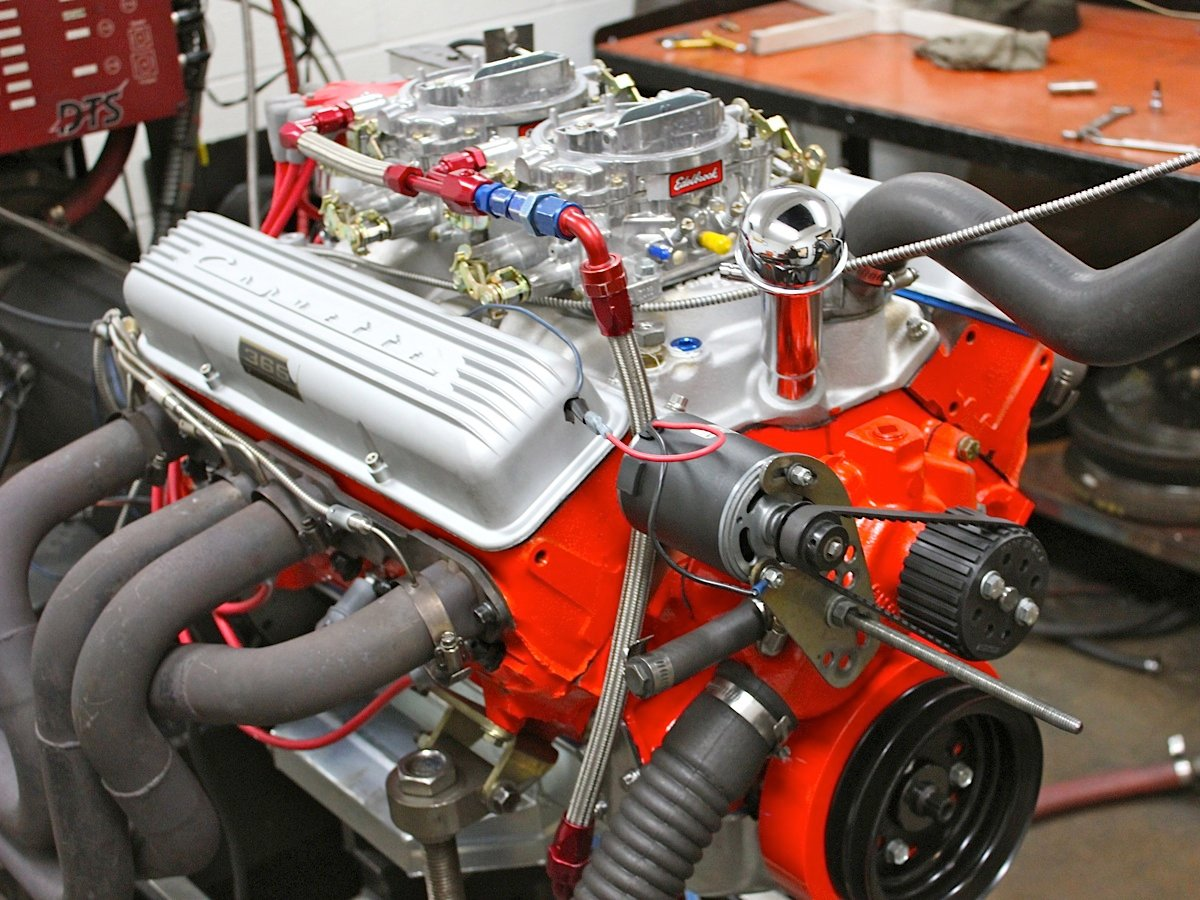 All Chevy 350 chevy engines : Inside a 327ci Small-block Chevy Recreated for a Cheetah - EngineLabs
