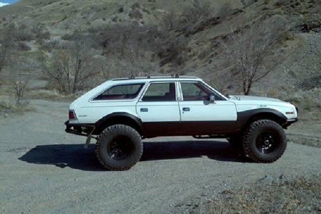 Craigslist Find: LS-Swapped Lifted AMC Eagle - Off Road Xtreme