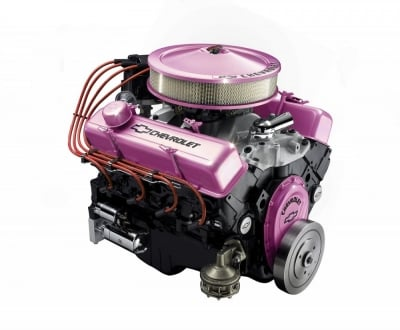 Pace Performance is a complete one-stop-shop for everything Chevy. From pink engine dress-up kits to hardcore racing crate engines.