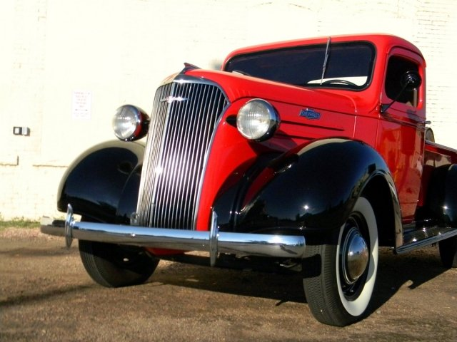 Jon Jacobs 1937 Chevy Pickup A Time Capsule In The 21st Century