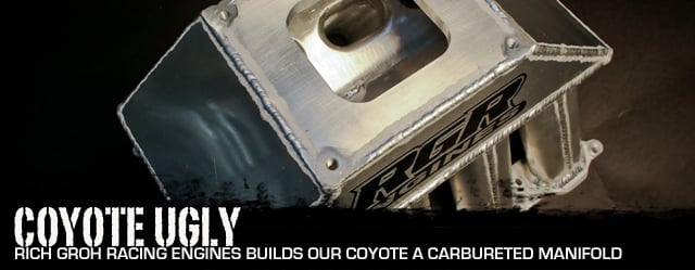 Rich Groh Builds Us A Carbureted Coyote Intake Manifold - StangTV