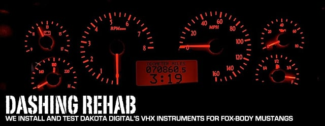 Install and Review Dakota Digital VHX Instruments For Fox ... on