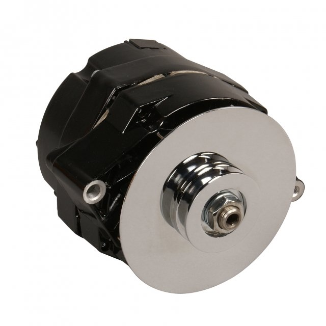 Summit Racing Equipment offers a nice variety of house brand GM alternators yielding extraordinary quality and power output but at more affordable prices. If you're on a tight budget and need charging capacity and good looks, check out Summit's website.