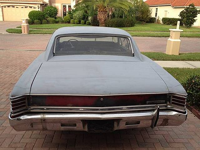 Craigslist Find Running 1967 Chevy Chevelle Project Car