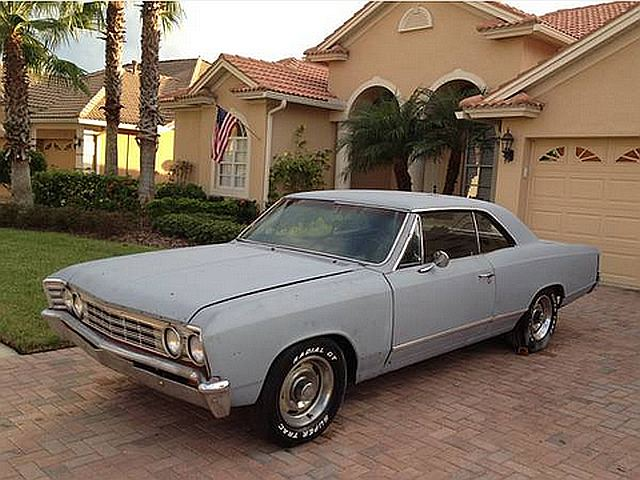 Craigslist Find: Running 1967 Chevy Chevelle Project Car - Chevy