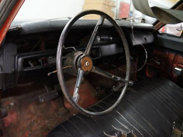 1969 Plymouth Roadrunner project interior