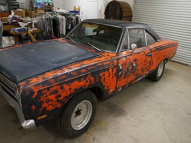 1969 Plymouth Roadrunner project