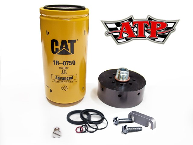 ATP_complete cat filter adpater, spacer, filter head rebuild kit, and bleeder screw