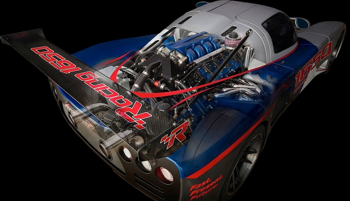 Mercury Racing Courting Crate Engine Market With 1650 Horsepower Dual Master Technician For Outboards Different Views Of How The Qc4v Was Packaged Into An Ultima Kit Car