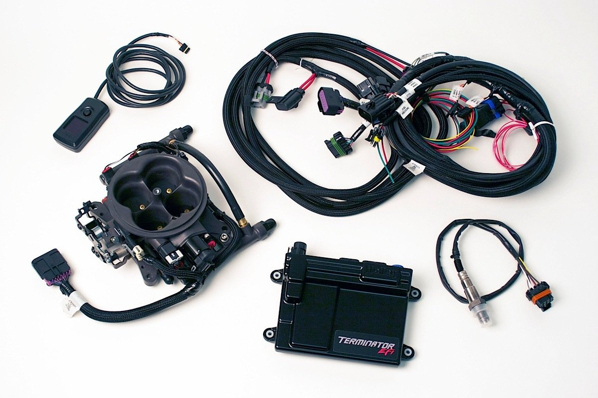 CompleteKit 11 project iron blazer holley terminator efi tbi cures quirky carb  at couponss.co