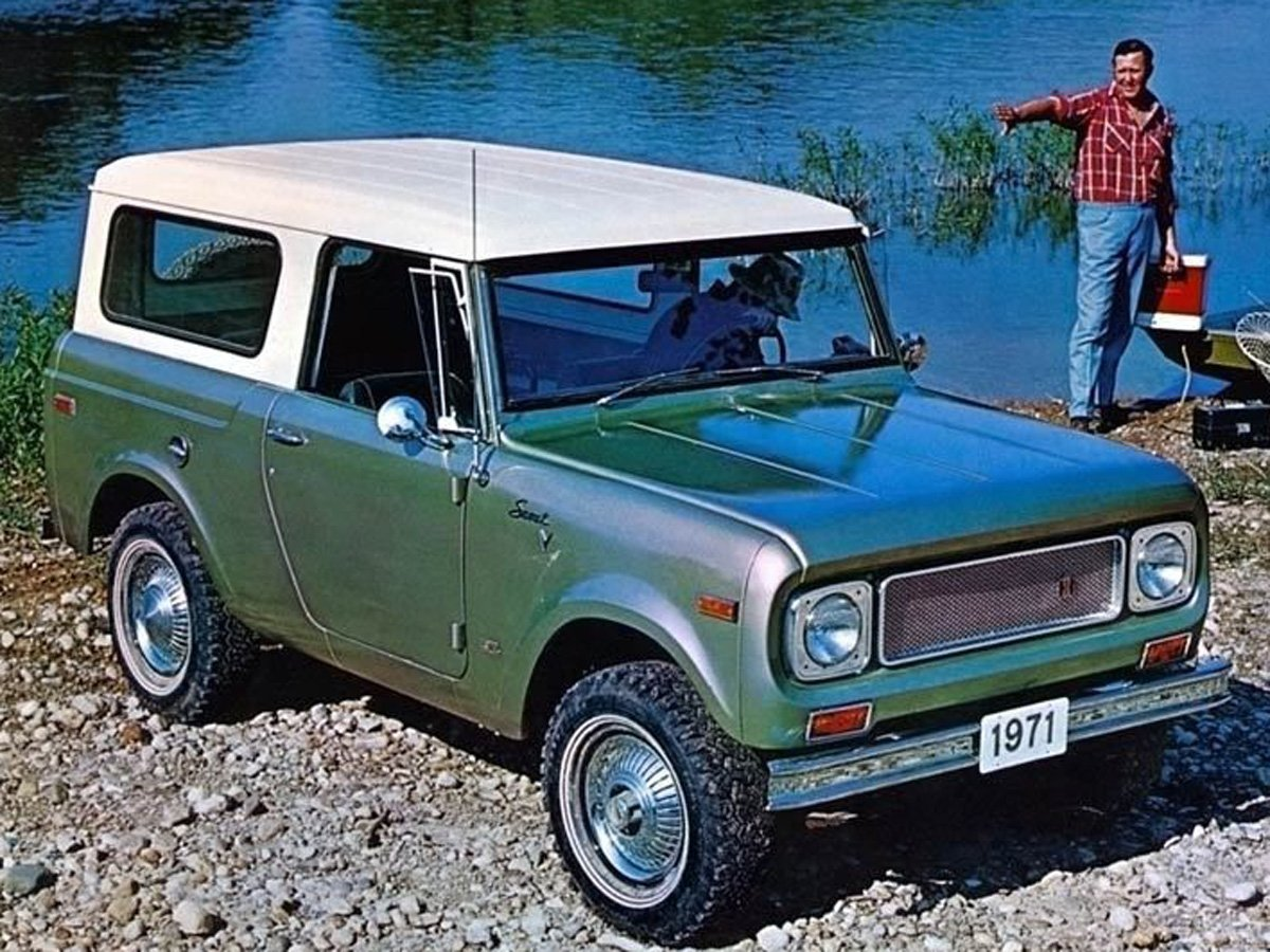 Vintage Monday International Scout The Pioneer From