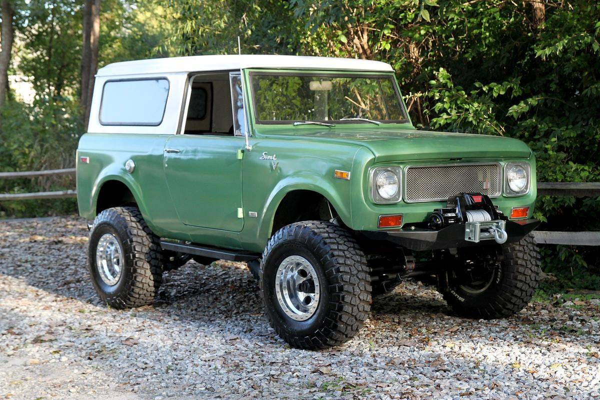 Vintage Monday: 1961 To 1971 International Harvester Scout