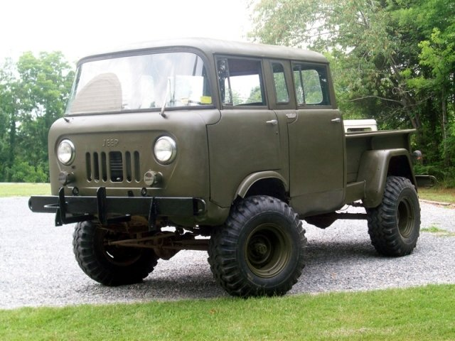 Vintage Monday The Jeep Willys Forward Control Line Off Road Xtreme