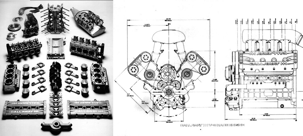Callawaycombo on Chevy Engine Exploded View