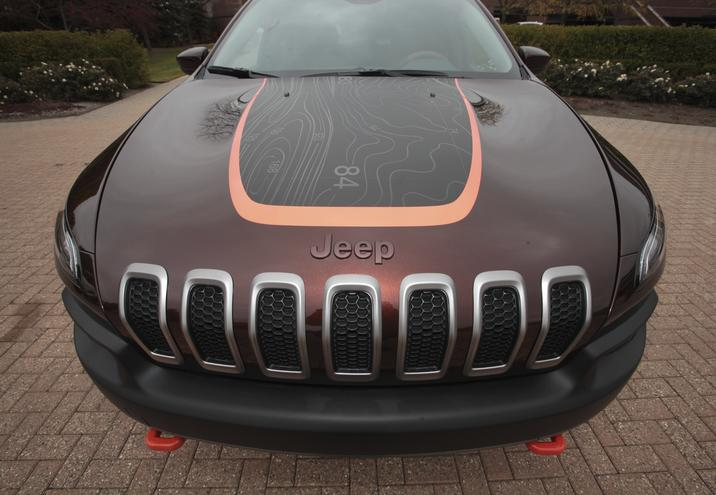 Jeep Launches Custom Map Decals For Its Current Vehicles Off