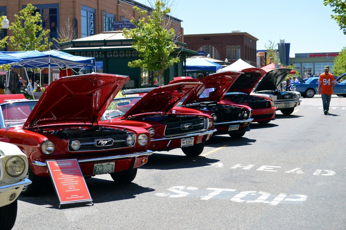 Fords fly a mile high at colorado 39 s annual horsefeathers for Airport motor mile used cars