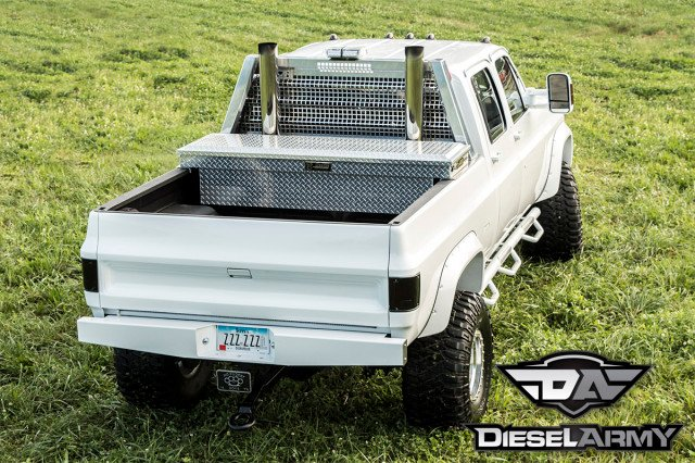 Built Not bought; Eric Miller's '89 Chevy Crew Cab With A ...