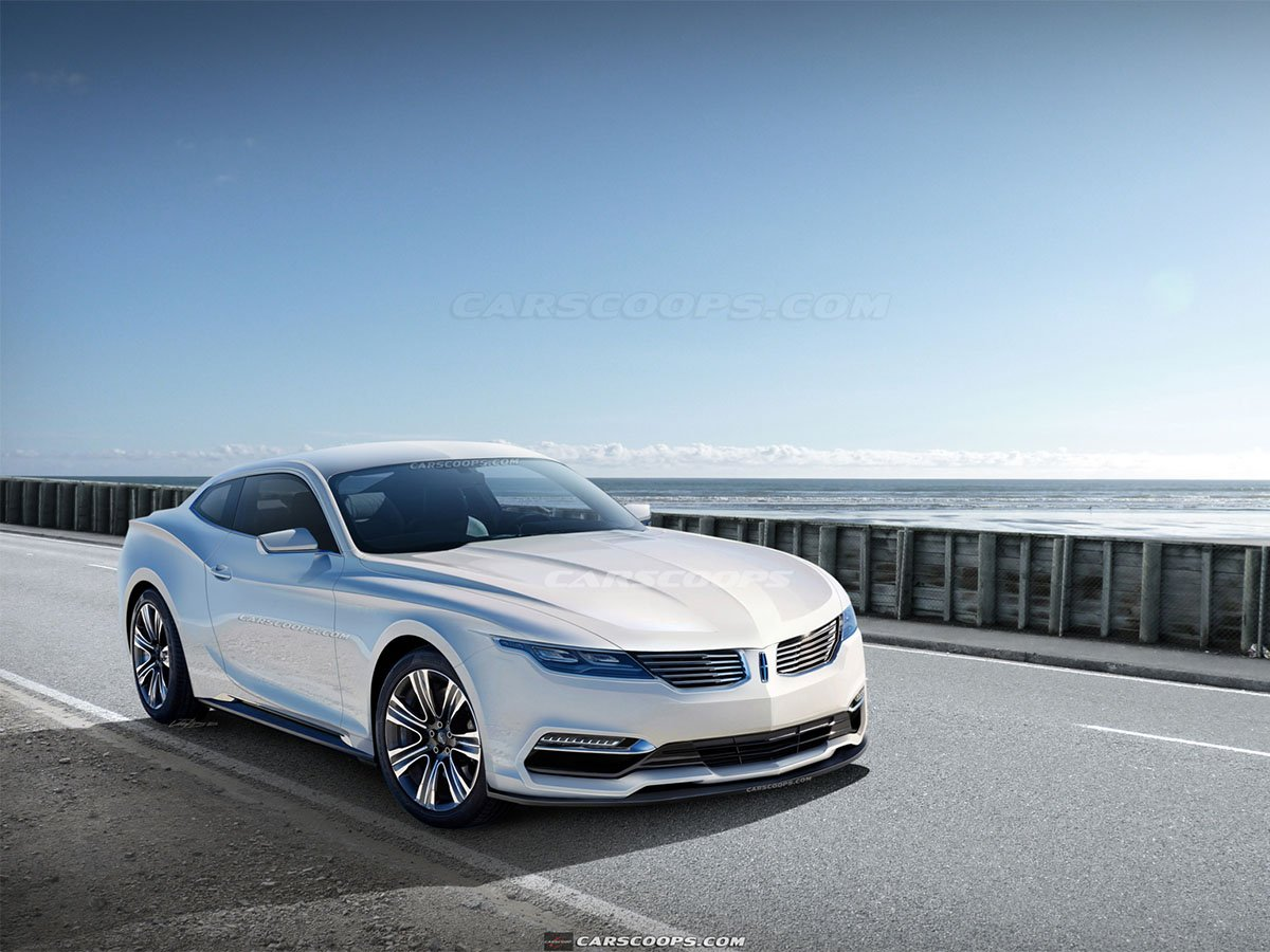 Lincoln Coupe Design Inspired By The S550 Mustang Stangtv