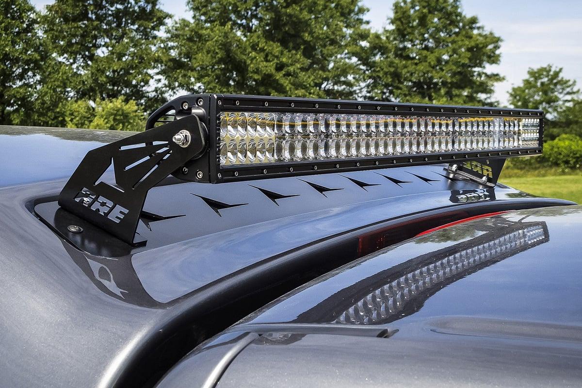 Honda Ridgeline Truck Bed Cover ... Truck Caps Partners Rigid Led Lights Shine Bright. on off road roof