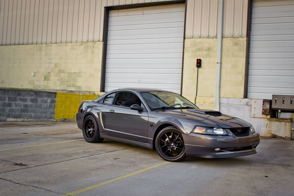 Exterior modifications can gain the attention of other mustang enthusiasts and michaels car is no exception gracing the sides are cobra side skirts