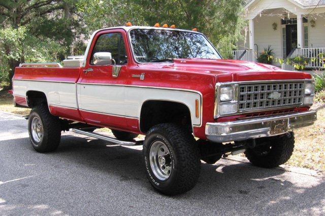 1980 Chevy pickup