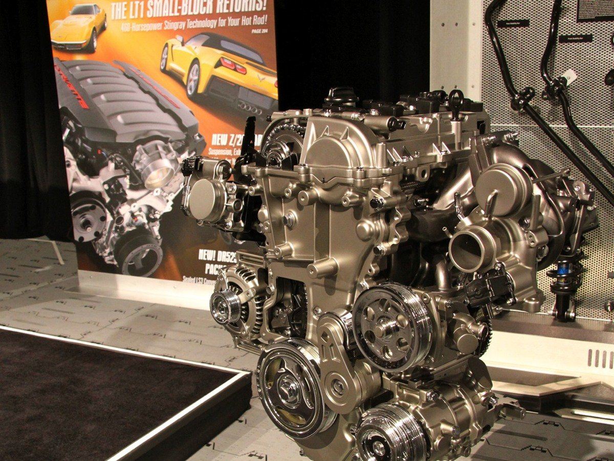 sema 2014 gm debuts 2 0l turbo 4 crate engine for rwd applications enginelabs. Black Bedroom Furniture Sets. Home Design Ideas