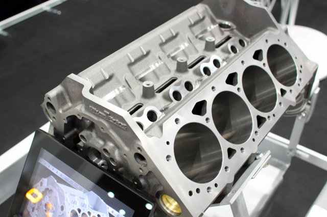 Sema 2014 blueprint engines debuts sbc block shows ls3 heads the venerable small block chevrolet engine is timeless its installation in millions of vehicles over the years means there is always a call for performance malvernweather Choice Image
