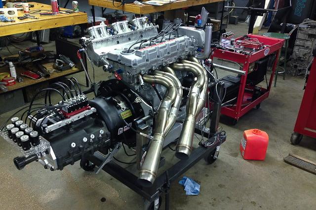 Homegrown Horsepower Custom Inline Six Dragster Engine Turns