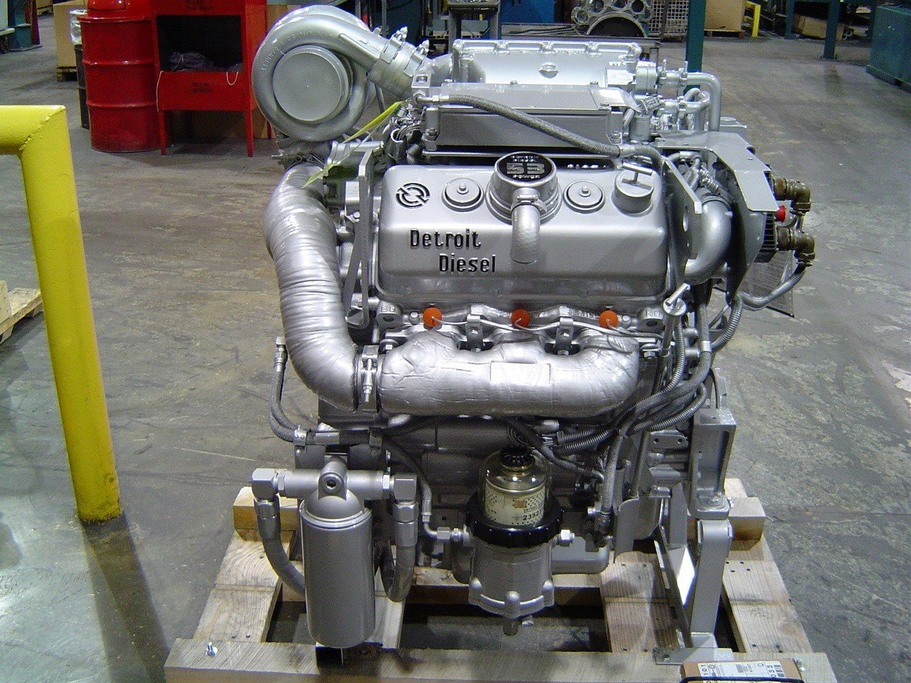 New 2 Stroke Diesel Engine Features A Supercharger And
